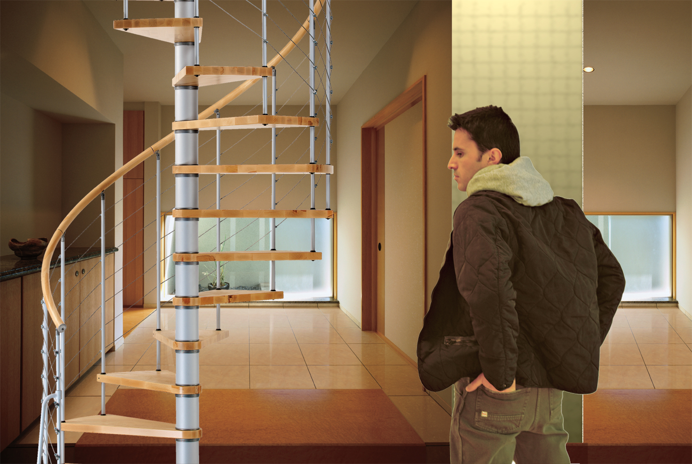 Vogue Spiral Staircase Kit The Staircase People Spiral