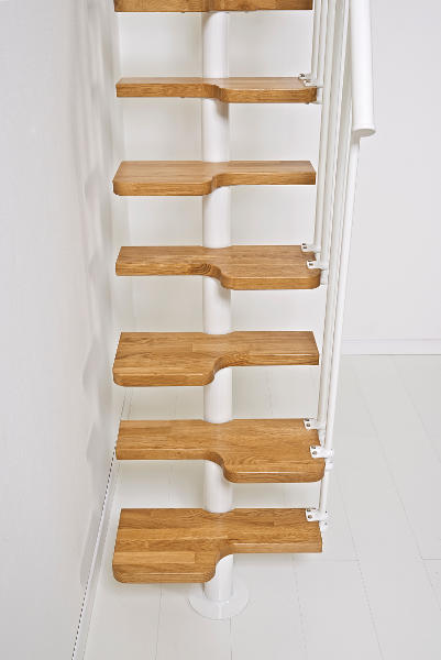 Second side railing for the oak30 space saver stair the - Space saving stair design ...