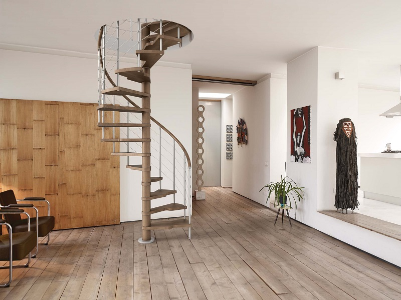 Genius T040Easy Spiral Staircase From TheStaircasePeoplecouk