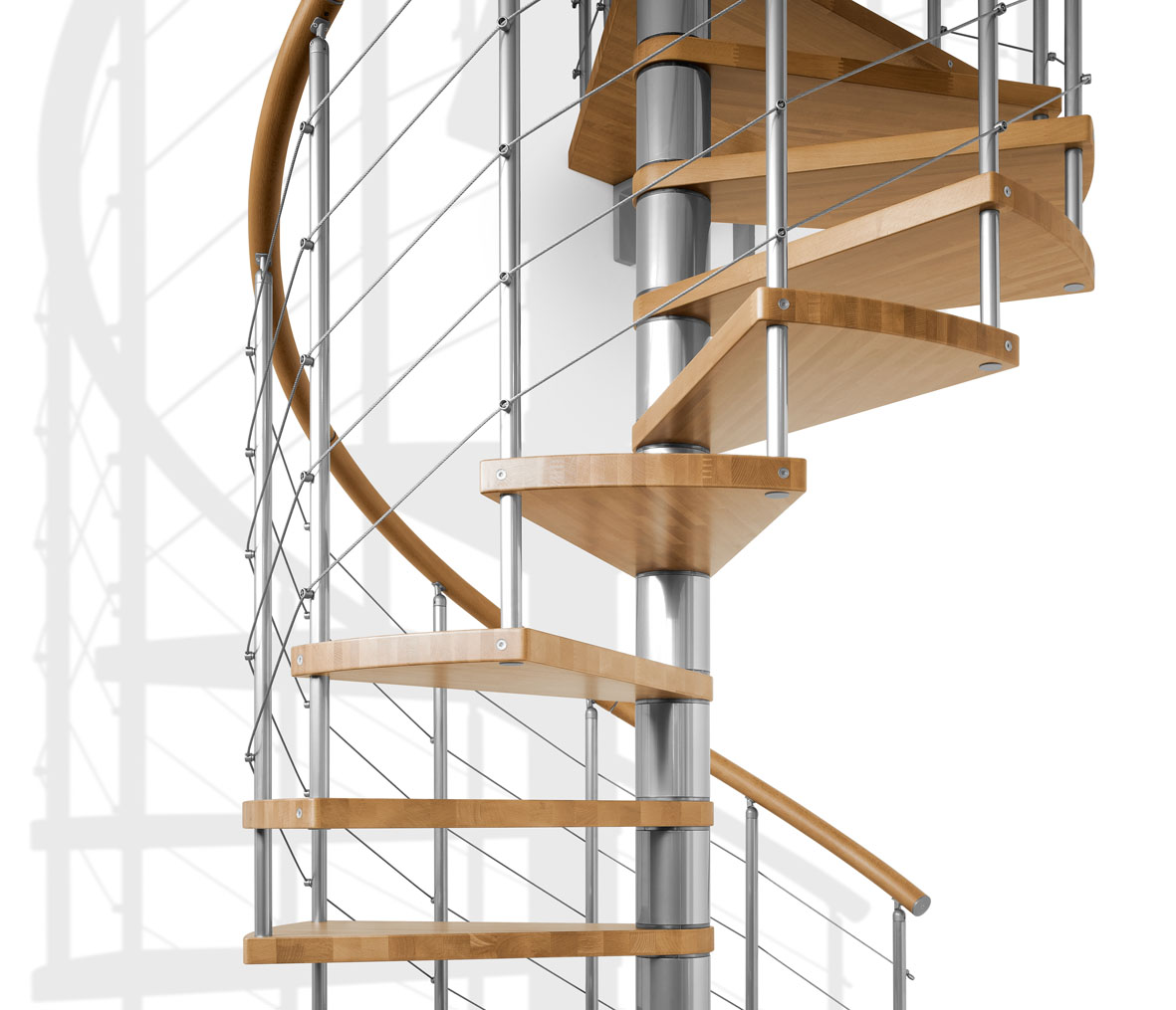 the staircase people spiral modular space saving stair kits uk
