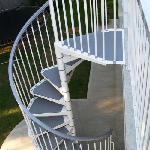 Eureka Indoor Outdoor Spiral Staircase Kit | The Staircase People ...