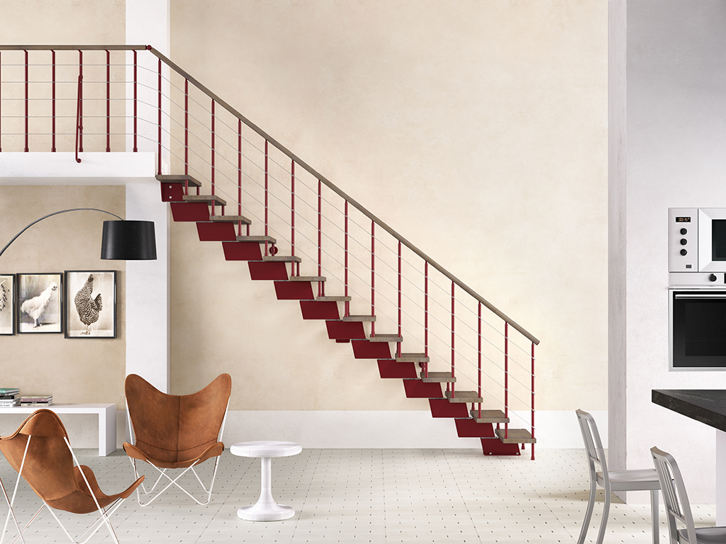 Genius ra010 winder staircase the staircase people for Escaleras fontanot