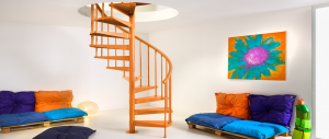 Clip Spiral Staircase Kit by Fontanot from The Staircase People