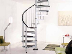 Civik Spiral Staircase in Grey from The Staircase People