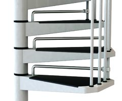 Riserbars for the Civik Spiral Staircase from The Staircase People
