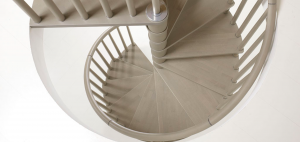 Genius070 spiral staircase detail made to order by Fontanot