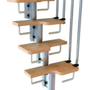 Karina Space Saver Stair Kit Riserbar Set from TheStaircasePeople.co.uk