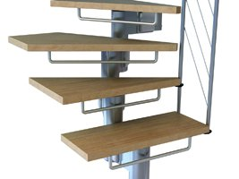 Riserbars on the Komoda Modular Staircase from The Staircase People