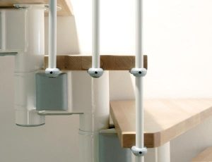 Kompact Modular Staircase detail from TheStaircasePeople.co.uk