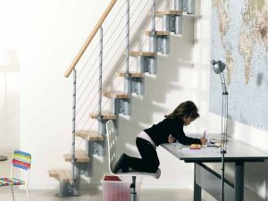 Kya Spacesaver Staircase from TheStaircasePeople.co.uk