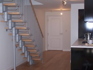 Kompact74 Straight Modular Staircase from TheStaircasePeople.co.uk