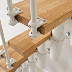 Oak30 Space Saver Stair Kit from TheStaircasePeople.co.uk