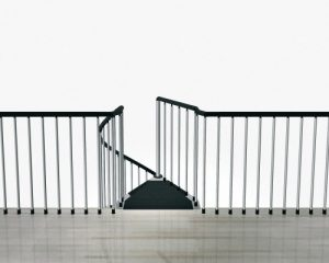 F3 Balustrading on a Gallery Edge from TheStaircasePeople.co.uk