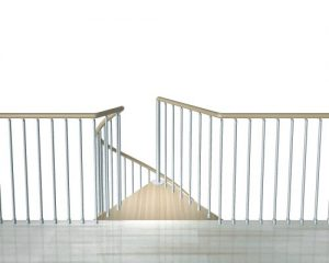 F1 Balustrading for Gallery Floor Edge from TheStaircasePeople.co.uk
