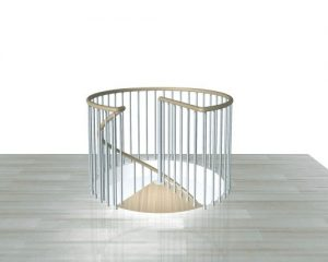 F1 Balustrade for circular opening from TheStaircasePeople.co.uk