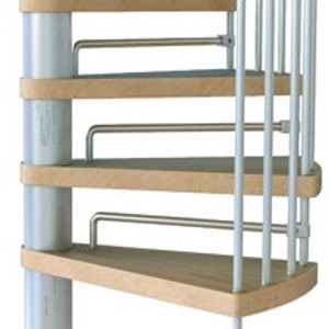 Klan Spiral Stair Kit Riser Bars from TheStaircasePeople.co.uk