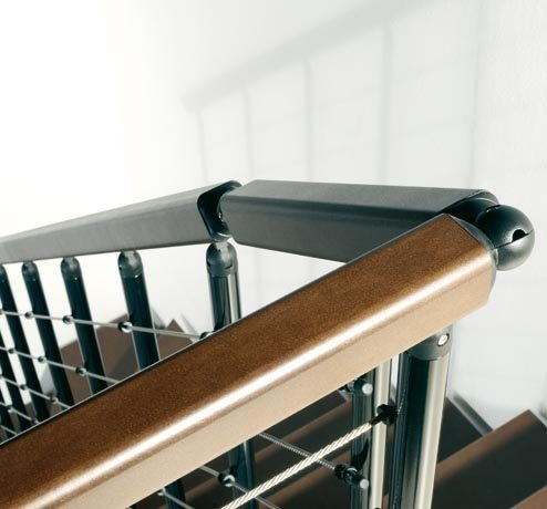 F5 Balustrade on a Komoda Staircase from TheStaircasePeople.co.uk