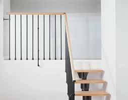 F4 Balustrade with a Kompact Staircase from TheStaircasePeople.co.uk