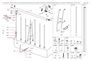 balustrade-kit-components