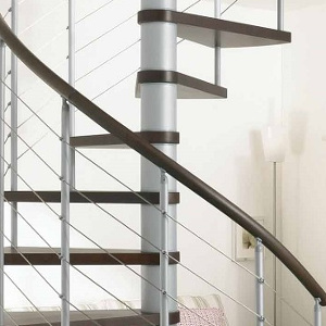 Additional Handrail for Kloe Spiral Stair Kit from TheStaircasePeople.co.uk