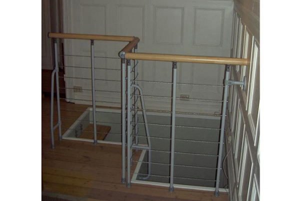 Vector stairwell balustrade from TheStaircasePeople.co.uk