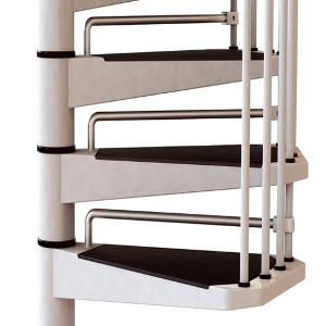Civik Spiral Stair Kit Riserbar Set from TheStaircasePeople.co.uk