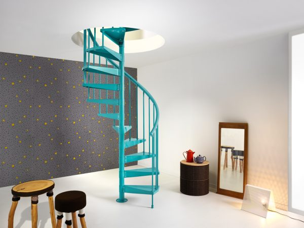 Clip Spiral Staircase from TheStaircasePeople.co.uk