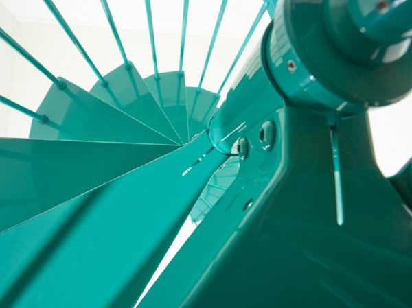 Clip Spiral Staircase Detail form TheStaircasePeople.co.uk