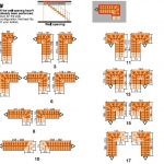 Ehleva Modular Stair Kit L and U Configuration Diagrams from TheStaircasePeople.co.uk
