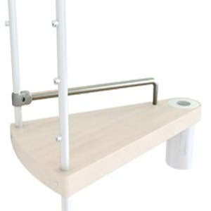 Kloe Spiral Stair Kit Additional Tread from TheStaircasePeople.co.uk
