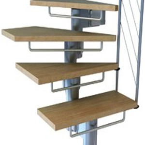 Komoda Staircase Kit Riserbar Set from TheStaircasePeople.co.uk