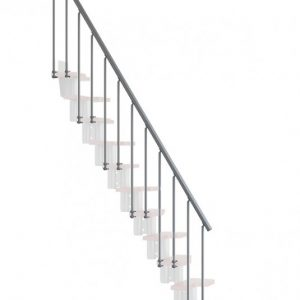 Oak30 Second Side Balustrading from TheStaircasePeople.co.uk