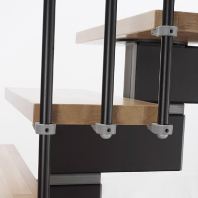 Stilo Modular Stair Tread Detail from TheStaircasePeople.co.uk