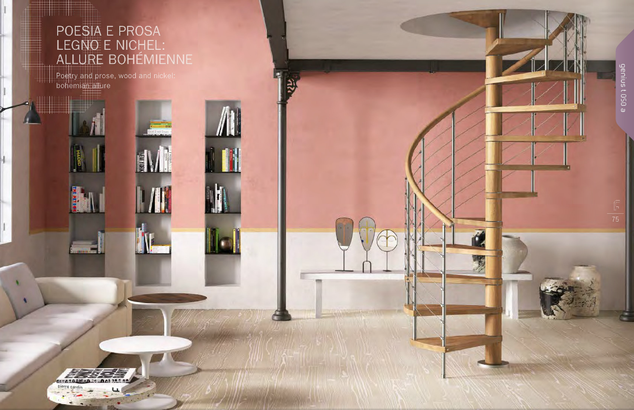 Genius T050 Spiral Staircase | The Staircase People | Spiral