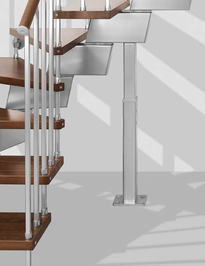 Genius RA020 Open Staircase Support Detail by Fontanot