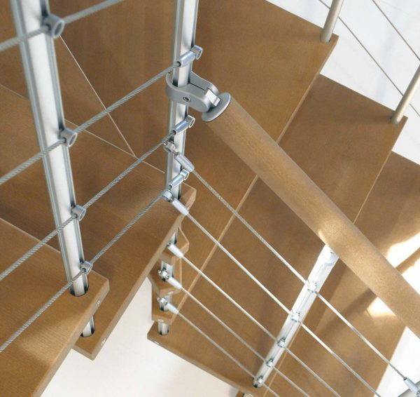 Genius RA040 Winder Staircase with Stainless Steel Cabling