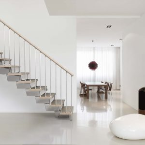 Genius RA030 Straight or Winder Staircase by Fontanot