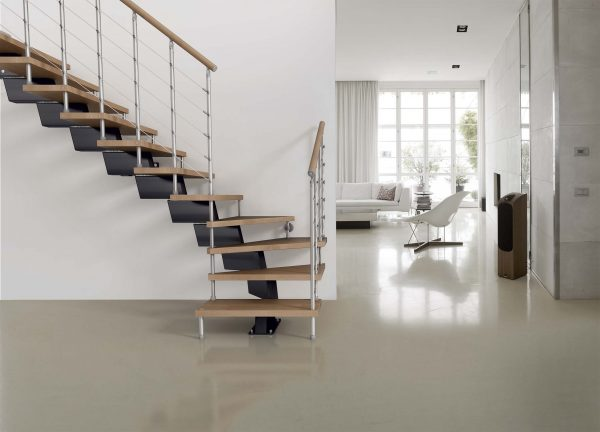 Genius RA040 Winder Staircase by Fontanot