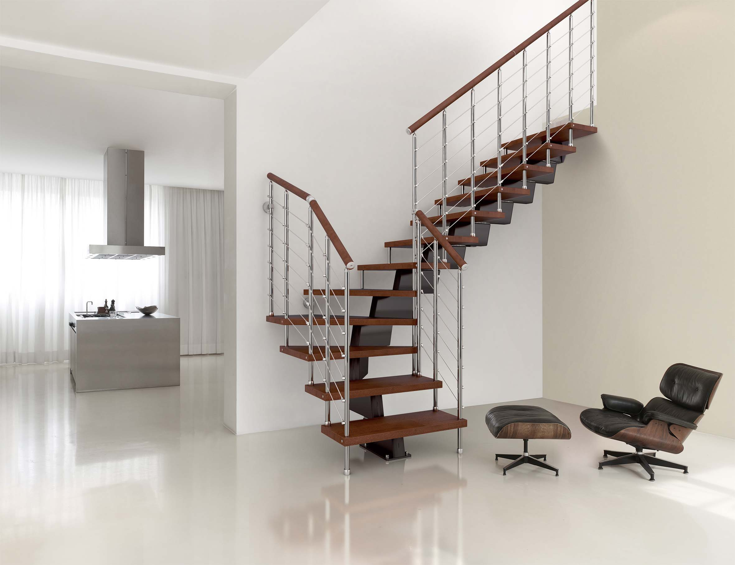 Genius RA050 Winder Staircase By Fontanot