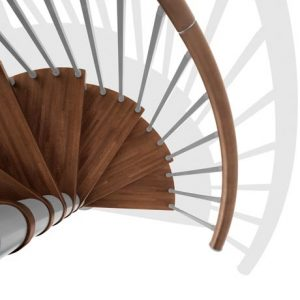 Genius T020 Spiral Staircase from TheStaircasePeople.co.uk