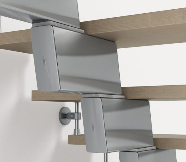 Genius RA030 Open Staircase Support Detail by Fontanot