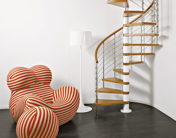 Genius T050 Spiral Staircase from TheStaircasePeople.co.uk