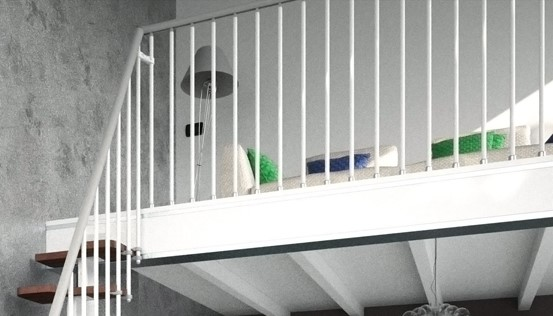 F10 Balustrading Venus Space Saving Staircase Kit from TheStaircasePeople.co.uk