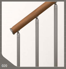 Genius RA020 Square Profile Balusters by Fontanot