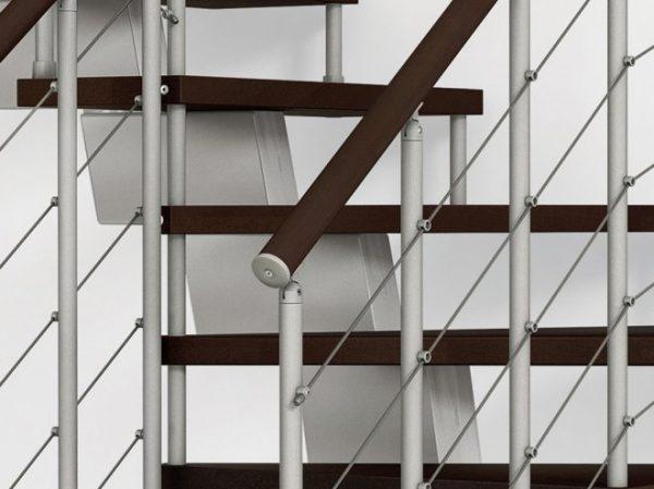 GeniusRA010 Winder Staircase Balustrade Details