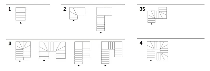 Urban Staircase Layouts