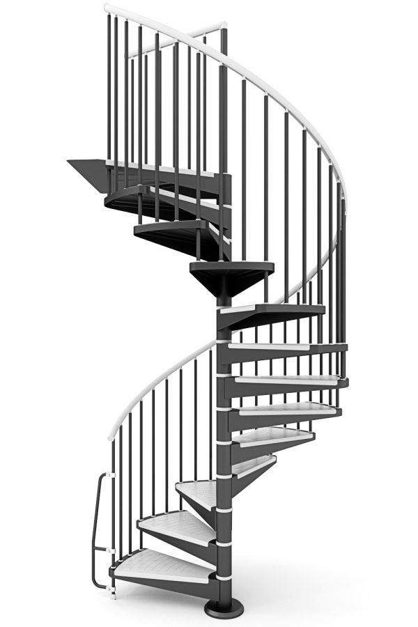 Motion Spiral Staircase option 2 by Ehleva from TheStaircasePeople.co.uk
