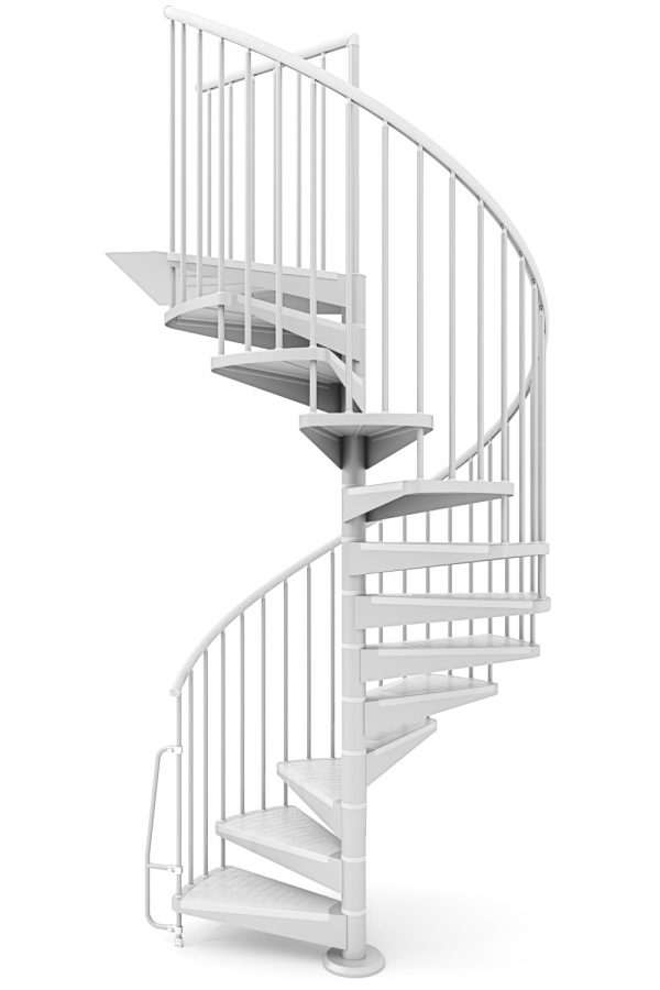 Motion Spiral Staircase option 3 by Ehleva from TheStaircasePeople.co.uk