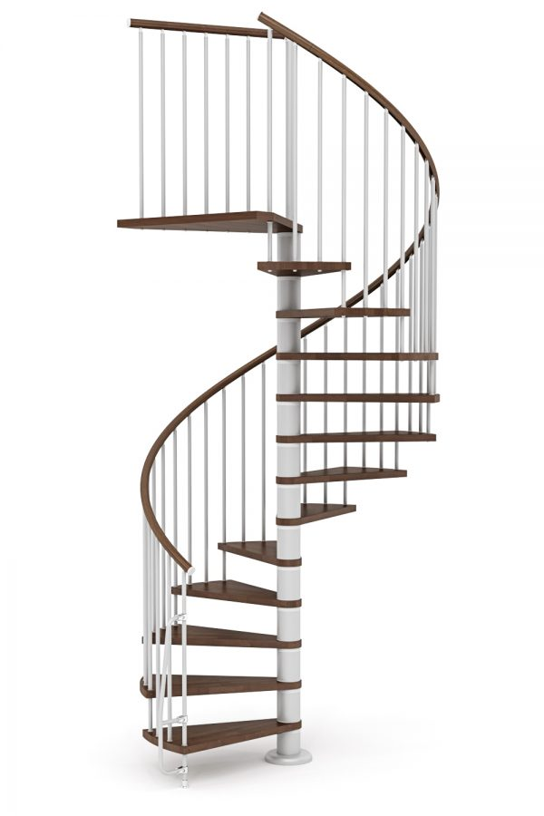 Nova Spiral Staircase option 1 by Ehleva from TheStaircasePeople.co.uk