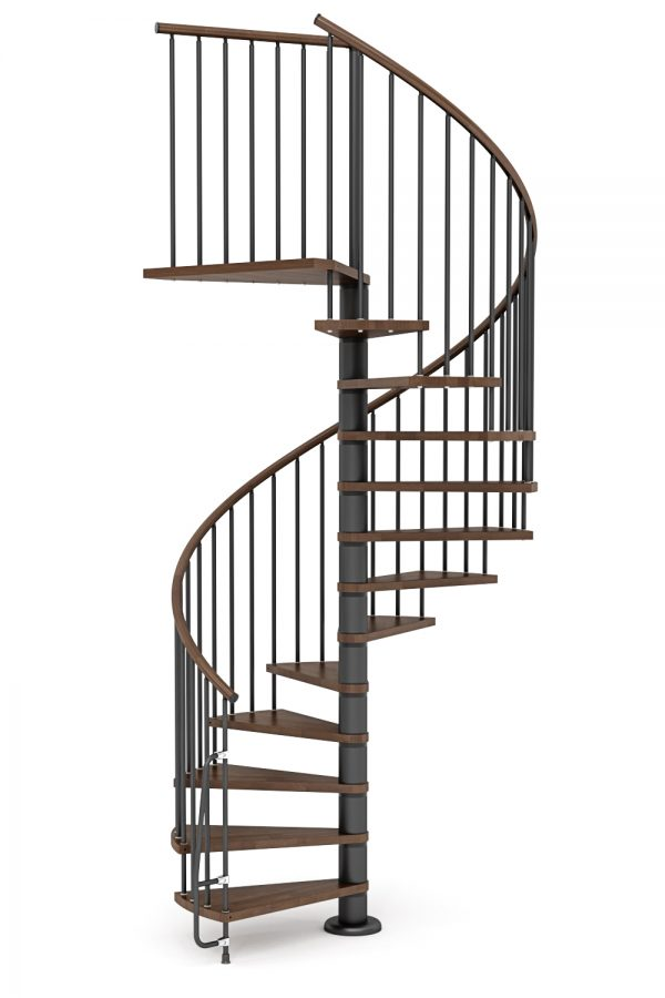Nova Spiral Staircase option 2 by Ehleva from TheStaircasePeople.co.uk